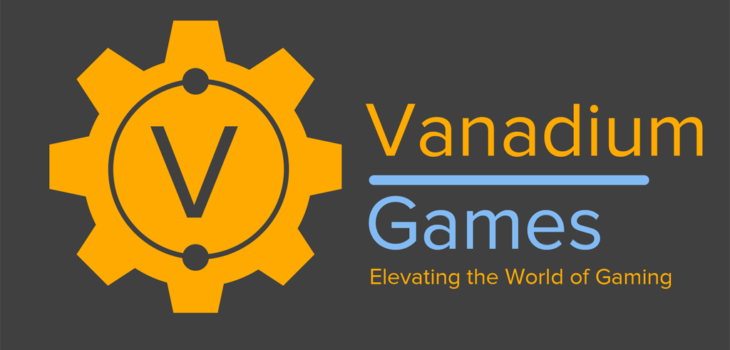 The logo of Vanadium Games