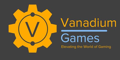 The logo of Vanadium Games